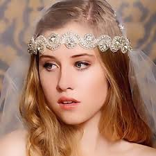 jewelled headdress 2015 handmade high grade headband for women with rhinestones