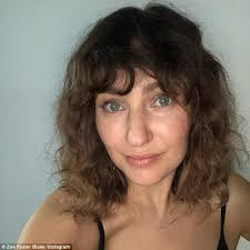 hair style giving birth zoë foster blake on self identity after giving birth daily mail
