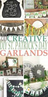 20 creative diy st patrick u0027s day garlands that will impress you