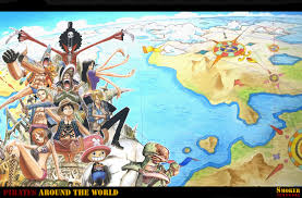 One Piece Map One Piece Wallpaper And Background 1440x950 Id 319154