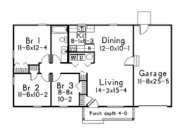 basic ranch home plans home plans