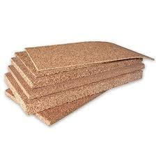 pannelli per isolamento termico soffitto artimestieri sughero in pannelli da 1 a 10 cm di spessore