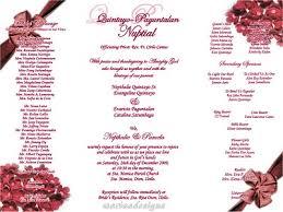 sle wedding invitations wording wedding invitation philippines sle style by modernstork