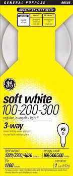 100 200 300 light bulb ge 3 way 100 200 300 watt mogul base light bulb 90505 www 3 way