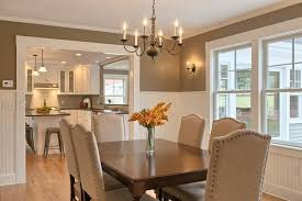 Traditional Dining Room Tables Traditional Dining Room With Wall Sconce Chandelier In Stow Ma