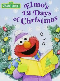 amazon books deal on black friday amazon com elmo u0027s 12 days of christmas sesame street big