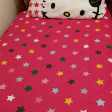 Hello Kitty Duvet Sanrio Hello Kitty Single Bed Flatsheet Quilt Duvet Cover Envybuy