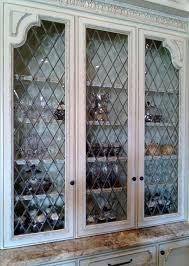 beveled glass kitchen cabinets beveled diamonds leaded glass panel leaded glass cabinet