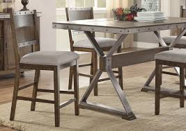 Industrial Style Furniture by Doran Industrial Style Counter Height Table Set