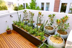 small rooftop design with hardwood floor tiles white wall exterior