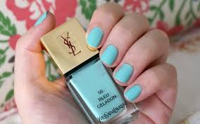 best blue nail polish through the looking glass