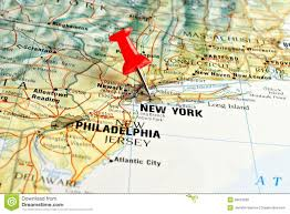 New York Maps by New York Map Tack Stock Image Image 1995481
