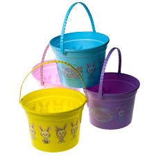 easter buckets happy easter walmart