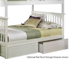 Bunk Beds With Storage Drawers by Columbia Twin Over Full Staircase Bunk Bed White Bedroom