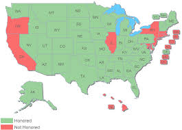 pa carry permit reciprocity map ohio concealed carry permit reciprocity ohio concealed carry