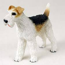 wire fox terrier gifts merchandise figurines ornaments