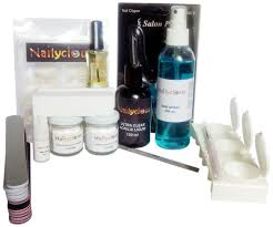 acrylic nails set kit for beginners amazon co uk beauty