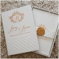 embossed wedding invitations gold hot st foil boxed jas plaid embossed pocketfold wedding