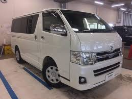 toyota hiace 2012 toyota hiace van 5 seats used car for sale at gulliver new