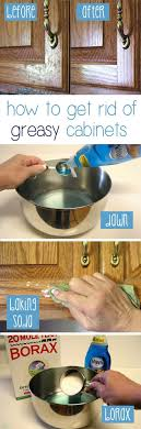 What To Use To Clean Greasy Kitchen Cabinets How To Clean Grease From Kitchen Cabinet Doors Kitchens Kitchen