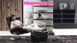 Living Room Chair And Ottoman by Black Living Room Furniture Chair Ottoman Wall Unit Carpet