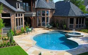 Small Backyard Ideas With Pool Gunite Pools U2013 Customize Shape And Size For A Unique Pool Design