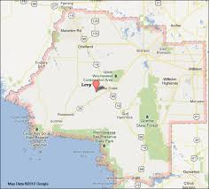 levy county florida map