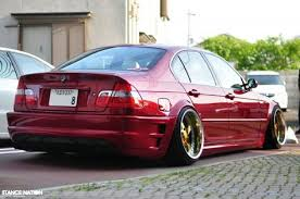 i should do this to my e46 custom paint and slammed lustful