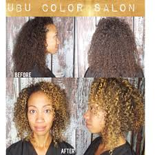we love curly hair ouidad haircut and balayage hair color by