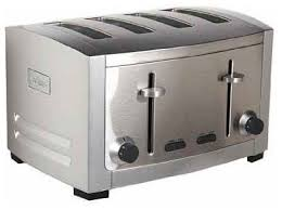High End Toasters All Clad Tj804d 4 Slice Toaster Contemporary Toasters By