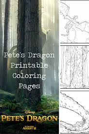 pete u0027s dragon free printable coloring pages u2022 baby costcutters