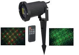 Firefly Landscape Lighting Firefly Landscape Laser Light White Remote 2 In 1 Motion