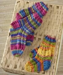 Kids Wool Socks Colorful Knit Kids Socks Red Heart