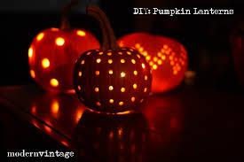 diyf pumpkin lanterns modern vintage events
