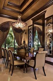 Dining Room Ceiling Lights Mediterranean Dining Room With Pendant Light U0026 Exposed Beam