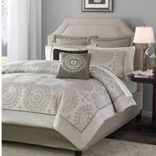 Bed Bath And Beyond King Comforter Sets Amazon Com Madison Park Tiburon 12 Piece Jacquard Comforter Set