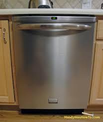 Frigidaire Dishwasher Not Pumping Water Kitchen How To Install A Frigidaire Dishwasher Maytag