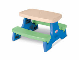 step 2 folding picnic table amazon com little tikes easy store junior play table toys games