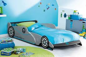 chambre voiture lit voiture 90x190 bleue