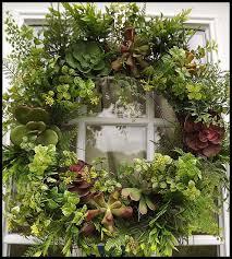 succulent wreath boxwood wreath wreath for by petalpusherswreaths