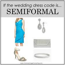 semi formal dress code wedding what to wear summer wedding guide