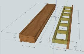 Free Shelf Woodworking Plans by Ana White Barn Beam Floating Shelf Diy Projects