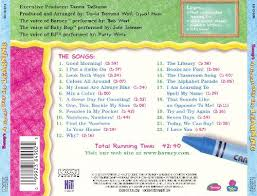 Credits To Barney And The by A Great Day For Learning Barney Songs Reviews Credits Allmusic