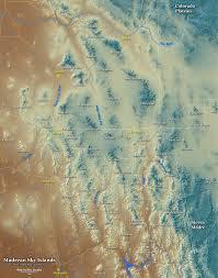Arizona New Mexico Map Map Of The Sky Island Region Of Arizona Sonora New Mexico And
