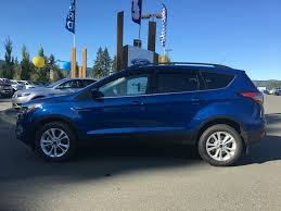 Ford Escape Blue - new 2017 ford escape 4 door sport utility in duncan bc 17577