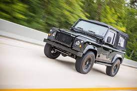 land rover defender 2019 corvette engined land rover defender 90