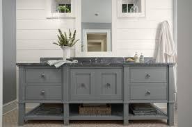 Stylish Grey Bathroom Vanity Engineered Wood Construction  Drawer - Bathroom vanities solid wood construction