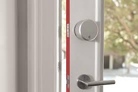 Door Handles And Locks August Smart Lock 2nd Generation Dark Gray Works With Amazon