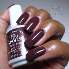 mini manicures ibd just gel petal imprint simply into my nails