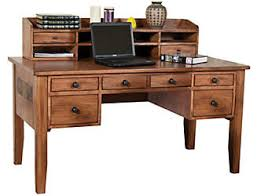 Computer Desk And Hutch Home Office Desks Art Van Furniture